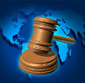 Global Law — Foto Stock