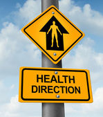 Health Direction — Stock Photo