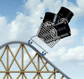 Falling Oil Prices — Stock Photo