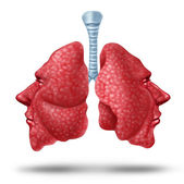 Understanding Lung Health — Stock Photo