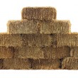 Bale of Hay Wall — Stock Photo