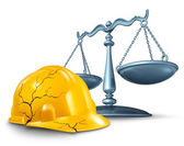 Construction Injury Law — Stock Photo