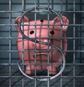 Financial Crime — Stock Photo