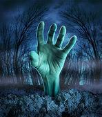 Zombie Hand Rising — Stock Photo