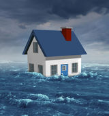 House Flood — Stock Photo