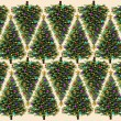 Christmas Tree Pattern — Foto Stock