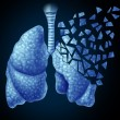 Lung Illness — Stock Photo