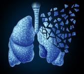 Lung Illness — Stock Photo
