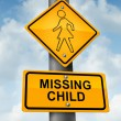 Stock Photo: Child Missing