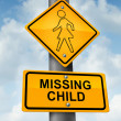 Child Missing — Stock Photo