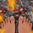 Walk On Fire — Stock Photo #29660715