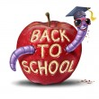 Stock Photo: Back To School Apple