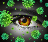 Eye Infection — Stock Photo