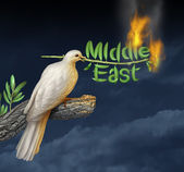 Global Middle East Crisis — Stock Photo