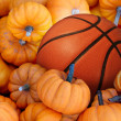 Thanksgiving Day Basketball — Stock Photo