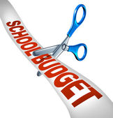 School Budget Cuts — Stock Photo
