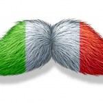 Italian Mustache Symbol — Stock Photo #31849973