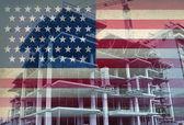 American Economic Development — Stock Photo
