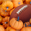 Autumn Football — Stock Photo