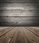Old Wood Stage Background — Stock Photo