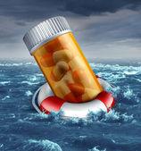 Rischio di piano sanitario — Foto Stock
