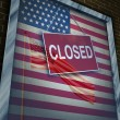 Closed United States — Stock Photo