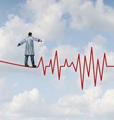 Perigo de diagnóstico médico — Foto Stock