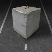 Roadblock Obstacle — Stock Photo