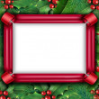 Winter Holiday Frame — Stock Photo