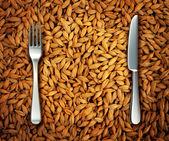 Comer trigo — Foto de Stock