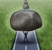 Removing Obstacles — Stock Photo