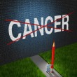 Fight Cancer — Foto de Stock