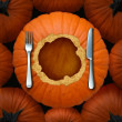 Thanksgiving Food — Stockfoto