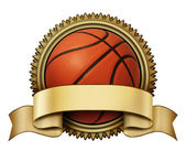 Basketball award — Stock Photo