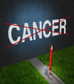 Fight Cancer — Stock Photo