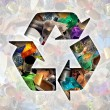 Постер, плакат: Recycle Garbage Concept