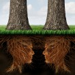 Business Roots — Stock Photo