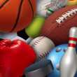 Stock Photo: Sports Background