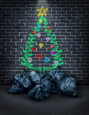 Poverty During The Holidays — Stock Photo