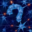 Neurology Questions — Stock Photo