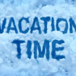 Stock Photo: Vacation Time