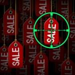 Bargain Hunter — Stock Photo
