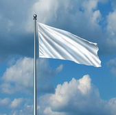 White Flag — Stock Photo