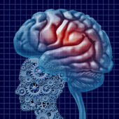 Brain Intelligence Technology — Stock Photo