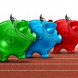 Money Race — Stock Photo