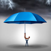 Business Protection — Stock Photo