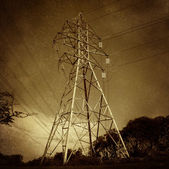 Electric Power Tower — Stock Photo