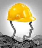 Road Construction Management — Stock Photo