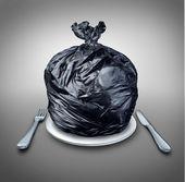 Comida lixo — Foto Stock