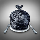 Food Garbage — 图库照片